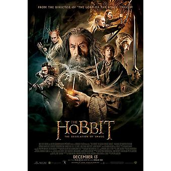 The Hobbit The Desolation Of Smaug Double Sided Original Movie Poster - Regular Style