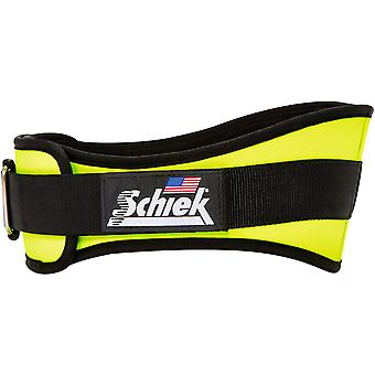 "Schiek Sports Model 2006 Nylon 6"" Weight Lifting Belt - Yellow"