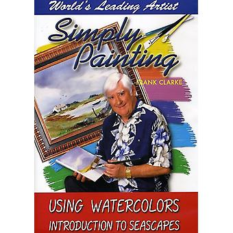 Using Watercolors Introduction to Seascapes [DVD] USA import