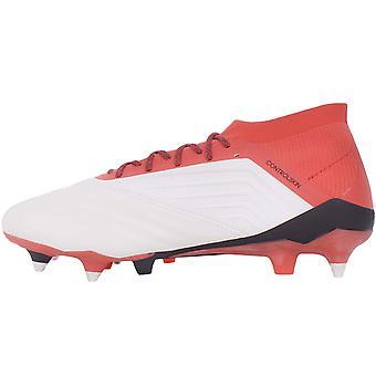 adidas Performance Mens Predator 18.1 Botas de fútbol de cuero suave - blanco