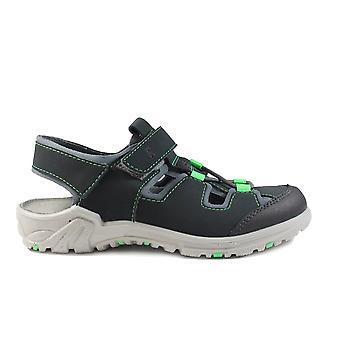 Ricosta Gerald 6522100-451 grijs jongens gesloten teen sandalen
