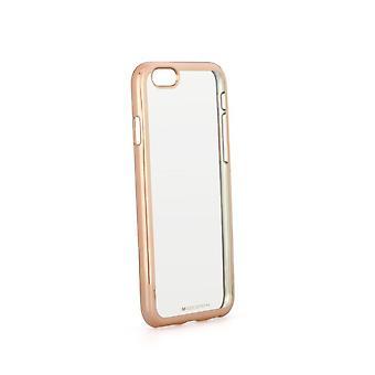 Coque Pour Iphone 6s Plus / 6 Plus Transparente Contour Doré