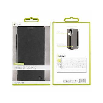 Case For Huawei P20 Pro Folio Black