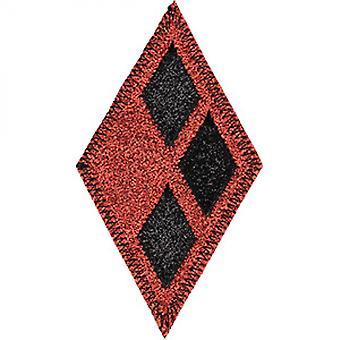 ハーレークイン ロゴ ダイヤモンド パッチ
