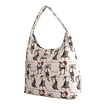 Marilyn robertson - catitude hobo shoulder bag by signare tapestry / hobo-cude