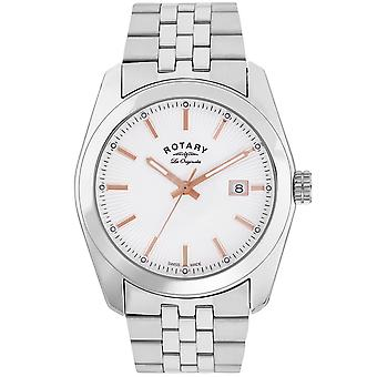 Rotary Lausanne Stainless Steel Men's Watch