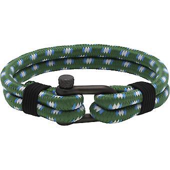 Armband-Ratsche B35088101M - Pistole Nylon grün Winde Mann schwarz PVD Stahl Armband