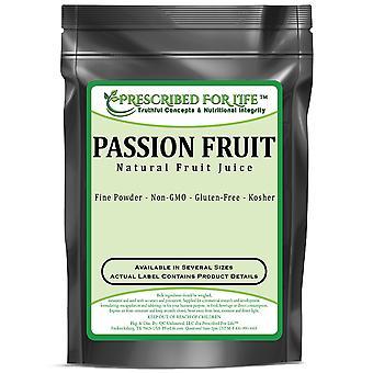 जुनून फल पाउडर - प्राकृतिक फलों के रस से