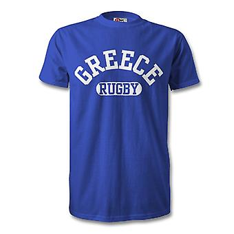 Griechenland Rugby T-Shirt