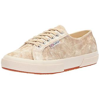 SUPERGA Femmes TIEDEVEVETW Velvet Low Top Lace Up Fashion Sneakers