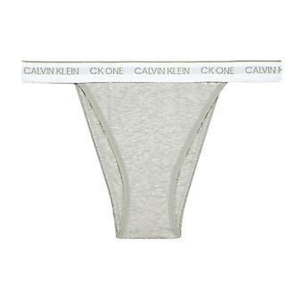 Calvin Klein CK One Cotton Brazilian - Grey Heather