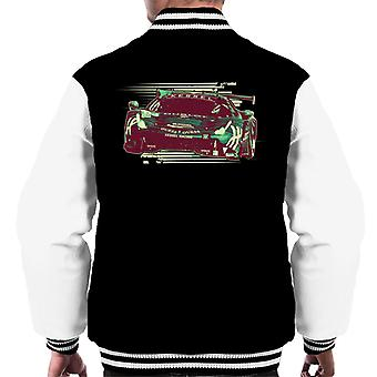 Motorsport Images Ferrari 488 GTE Gostner Frey Gatting Men's Varsity Jacket