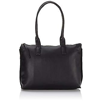 Bree 334003_Schultertaschen Black Women's Crossbags (Black Smooth 909.0)) 32x11x22 cm (B x H x T)