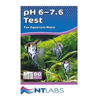 NT Labs Aquarium Lab PH 6-7.6 Test Kit