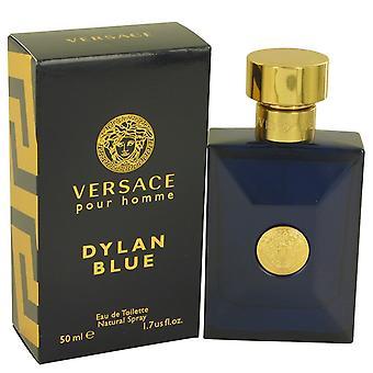 Versace Pour Homme Dylan Blue av Versace Eau De Toilette Spray 1.7 oz/50 ml (män)