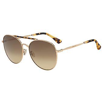 Jimmy Choo Abbie/G/S 06J/HA Gold Havanna/Brown Gradient Sonnenbrille