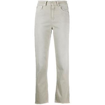 Closed C9140507ahm290 Women's Beige Cotton Jeans