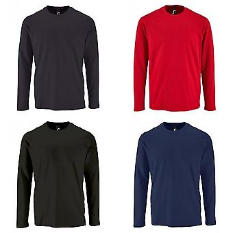 SOLS Mens Imperial Long Sleeve T-Shirt