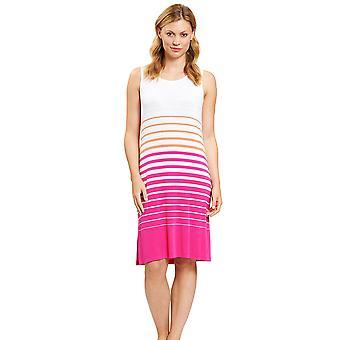Féraud 3201023-16380 Dámské's ležérní Elegantní prsten, růžový loungewear noční košile