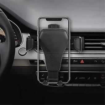 Universal gravity auto lock car mount air vent holder stand for iphone xiaomi mobile phone