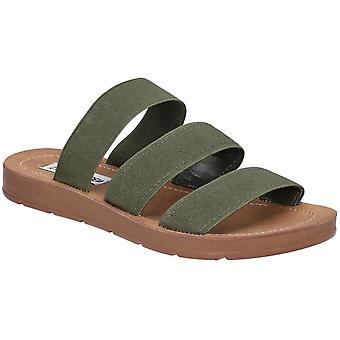 Steve Madden Donne Pascale Flat Slip On Slider Sandals