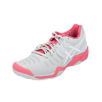 Asics GEL-RESOLUTION 7 CLAY Women's Sports Shoes Grey Sneaker Turn Shoes