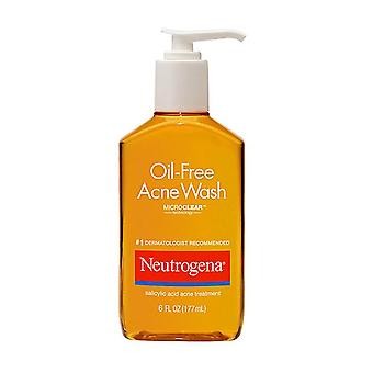 Neutrogena oil-free acne wash salicylic acid acne treatment, 6 oz