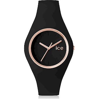 Ice Watch Armbandsur Unisex ICE glam Svart Rose-Gold Medium 000980