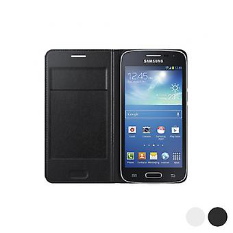 Flip Wallet for Galaxy Core LTE G386F Samsung/White