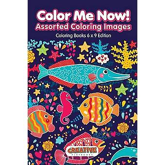 Color Me Now Assorted Coloring Images  Coloring Books 6 X 9 Edition by Creative Playbooks