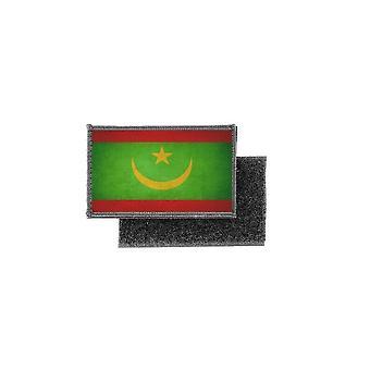 Patch ecusson prints vintage mauritanian flag badge