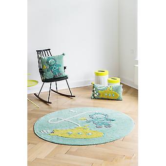 Round baby camera carpet Submarine diameter 150cm