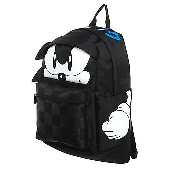 Sonic The Hedgehog Tech Sleeve Backpack Satchel 47cm