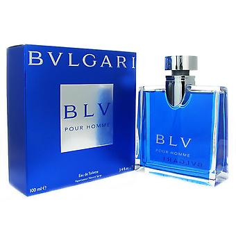 BLV para homens por spray de toilette bvlgari 3,3 oz eau de