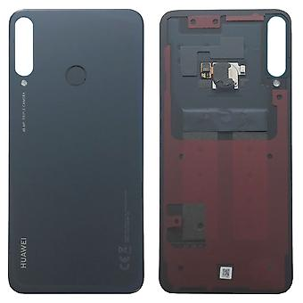 Huawei Battery Cover Battery Deksel Battery Cover Zwart / Midnight Black voor P40 Lite E 02353LJE Reparatie Nieuw