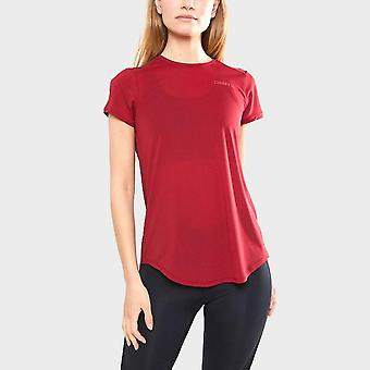 New Craft Women's Charge Short Sleeve Running T-Shirt Rouge