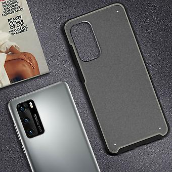 Huawei P40 Bumper Protective Case Reinforced Angles Shockproof- Black