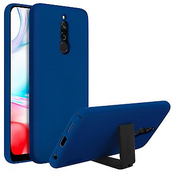 Hard Stand Case Xiaomi Redmi 8 /8A- Super Frosted Shield- Nillkin, Donkerblauw