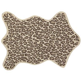 Salonloewe kynnysmatto leo näyttää muoto reunukseton