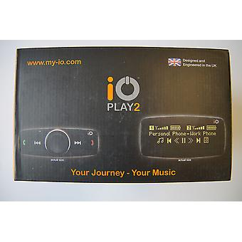 iO Play2 Bluetooth Hands-free & Music Streaming Car Kit