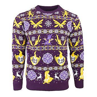 Official Spyro the Dragon Fairisle Christmas Jumper / Ugly Sweater