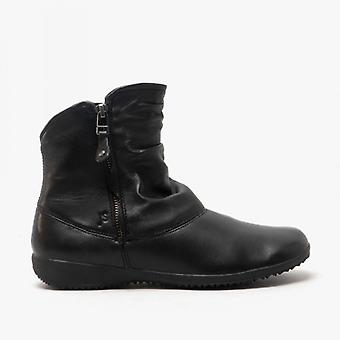 Josef Seibel Naly 24 Ladies Leather Ankle Boots Black