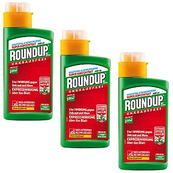 Sparset: 3 x ROUNDUP® AC concentrate, 400 ml