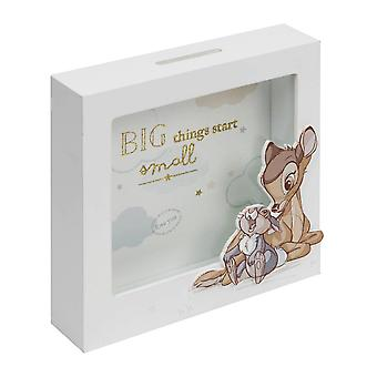 Disney Bambi Big Things Start Pieni MDF Money Bank