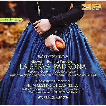 Cimarosa, D. / Oliveri, Romero / Fasano, Renato - La Serva Padrona - Cimarosa: Il Maestro Di [CD] USA import