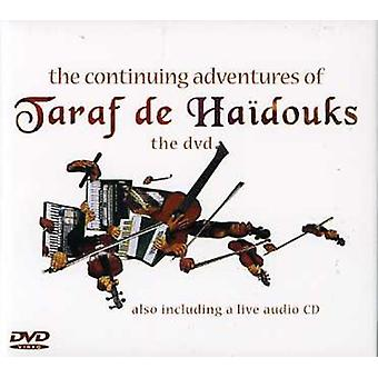 Taraf De Haidouks - Continuing Adventures of Taraf De Haidouks [CD] USA import