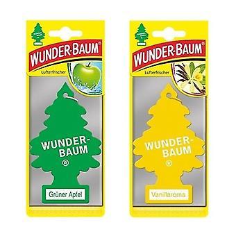 Bunder-Baum perfum (Apple + Vainilla) 2-Pack