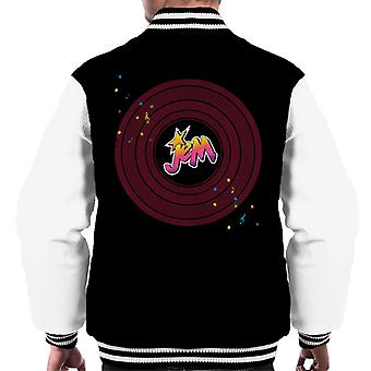 Jem And The Holograms Musical Clef Note Men's Varsity Jacket