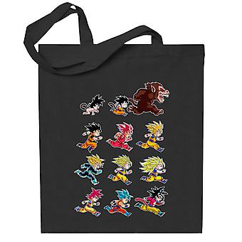 Dragon Ball Evolusjoner Av King Monkey Totebag
