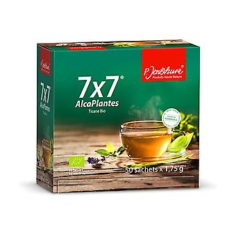 7 x 7 AlcaPlantes, organic purifying infusion 50 packets